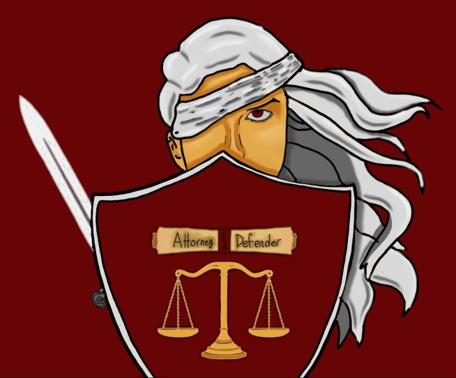 Attorney defender Logo